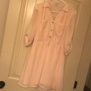 Light pink dress- only worn twice